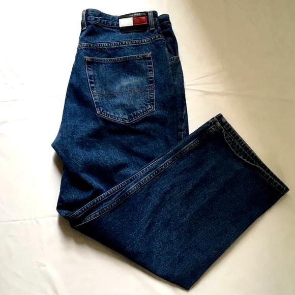 Tommy Hilfiger Other - Tommy Hilfiger Mens Jeans Medium Wash Denim Zip 40